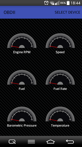 OBDII DTC values from Car