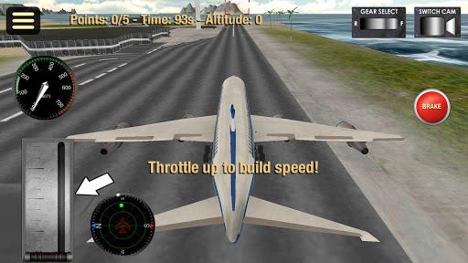 飛機模擬3D