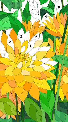 Coloring Book - Color by Number & Paint by Number screenshot 12