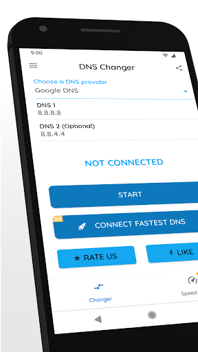 DNS Changer | Mobile Data & WiFi | IPv4 & IPv6 1201r screenshots 1
