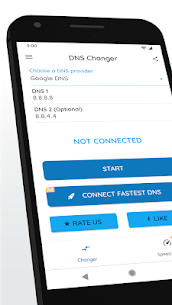 DNS Changer Pro Mod Apk 1236u (Full Unlocked + No Root) 1