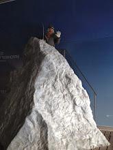 Photo: Fake climb