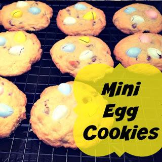 Mini Egg Cookies #Recipe