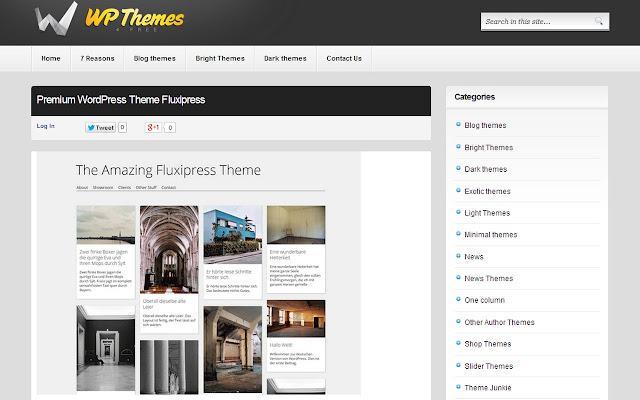 Temas para Wordpress - Chrome Web Store
