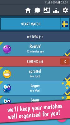 BattleWords Word Game (Free) - screenshot