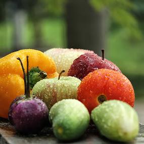 fresh outdoor by Ismed  Hasibuan  - Food & Drink Fruits & Vegetables ( indonesian, color, food, fruits, vegetables )