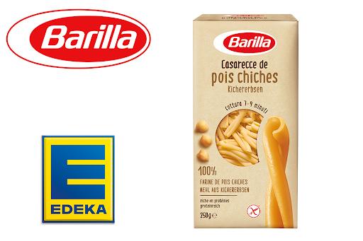 Bild für Cashback-Angebot: Barilla Casarecce aus Kichererbsen bei Edeka - Barilla