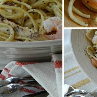 Queensland Chicken and Shrimp Pasta