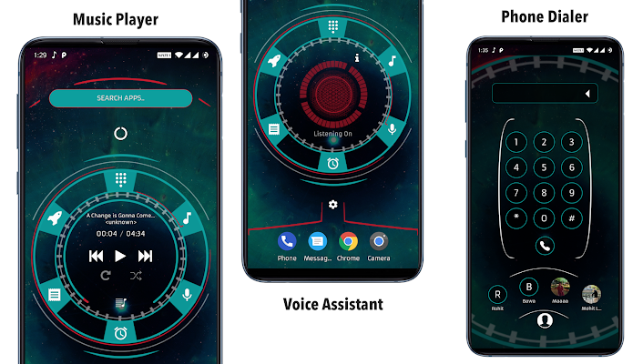 Alpha Hybrid Launcher Prime Screenshot Image