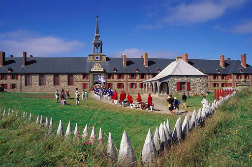 Visit the Fortress of Louisbourg, founded by the French in 1713, in Sydney, Nova Scotia.