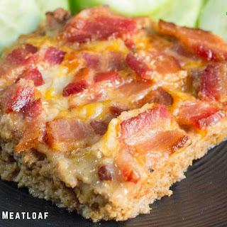 BBQ Bacon Cheddar Meatloaf.