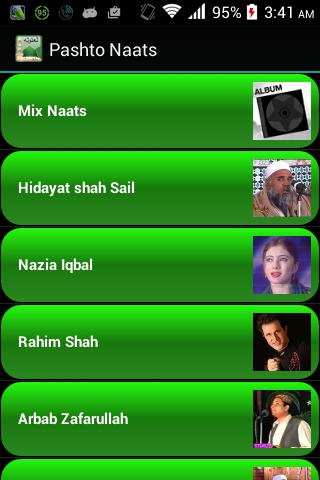 Pashto Naats