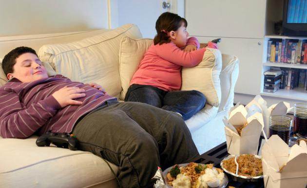 Resultado de imagen para niños obesos