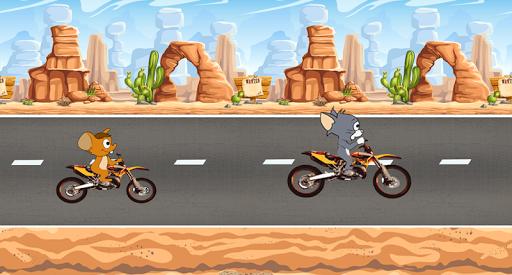 Jerry Moto Race And Tom 2.2 screenshots 2