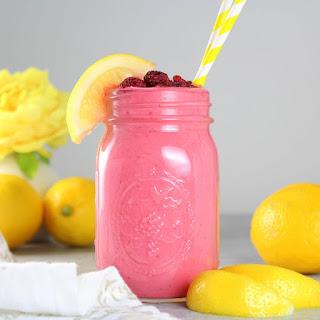 Raspberry Lemonade Smoothie.