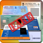 Fake ID Card Generator Icon