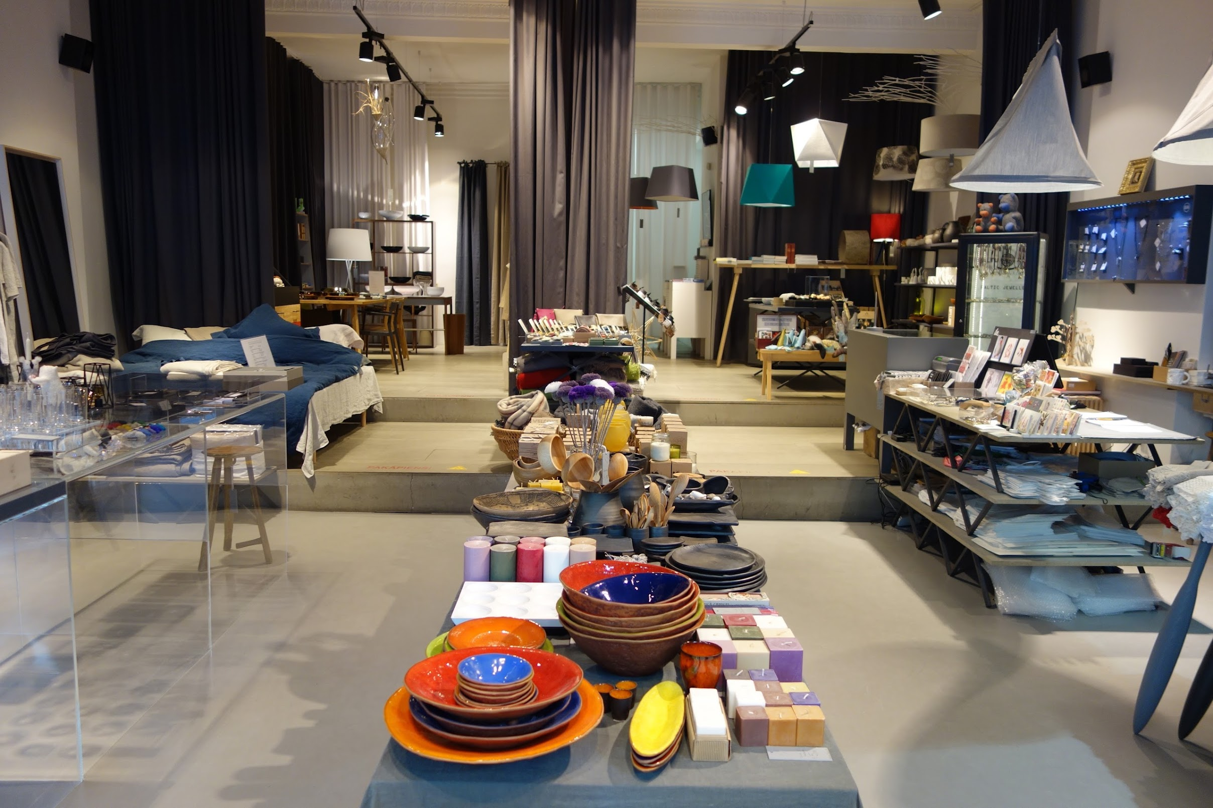 Shopping at Rija, Riga, Latvia