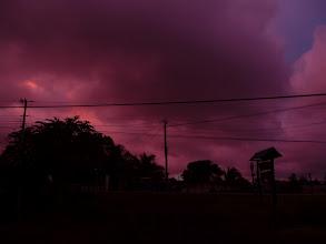 Photo: Auch wenn der Kameramodus ein bisschen nachhalf: SO kann ein Sonnenuntergang hier aussehen :)