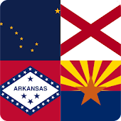 Guess the Flag - USA States