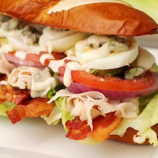 Turkey Cobb Salad Sandwich