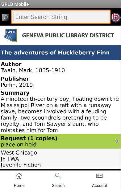 Geneva Public Library District- screenshot