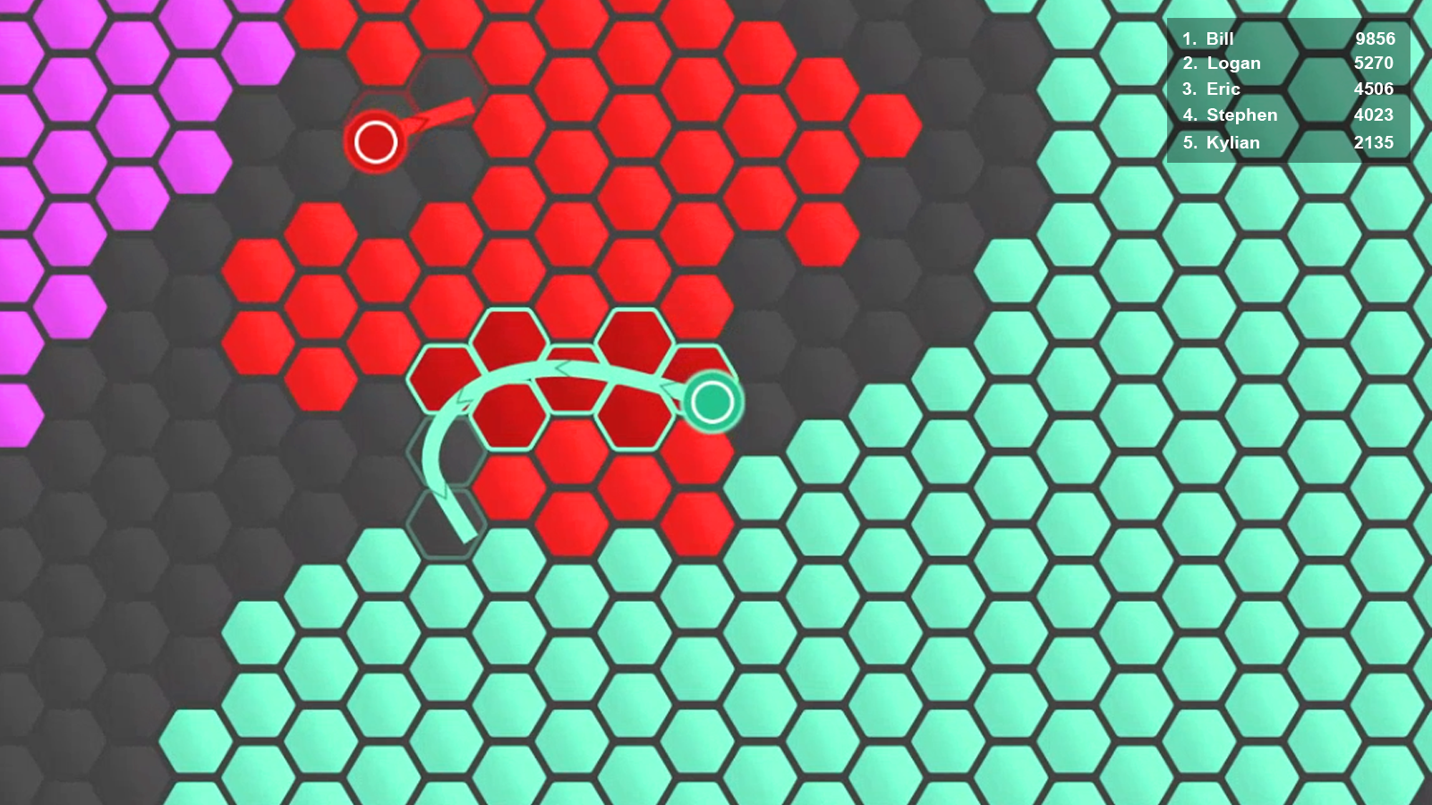 Superhex.io- screenshot