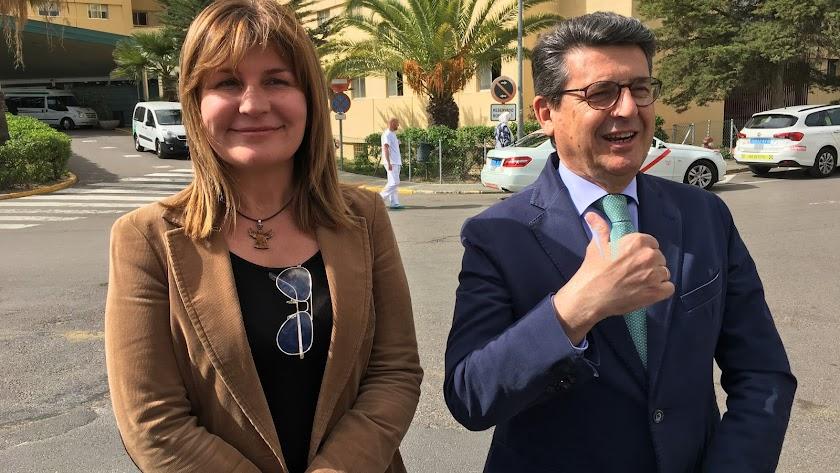 Rosalía Espinosa y Juan José Matarí.