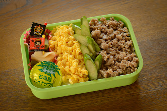 """Photo: This photo appeared in an article on my blog on Apr 26, 2013. この写真は4月26日ブログの記事に載りました。 """"Bento for a Big Boy"""" http://regex.info/blog/2013-04-26/2251"""