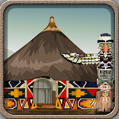 Escape Games-Tribal Hut