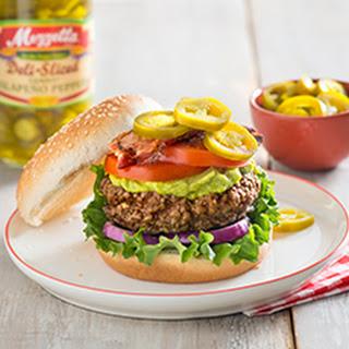 Pepper Stuffed Burger
