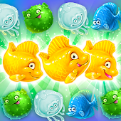 Mermaid puzzle – fish rescue!