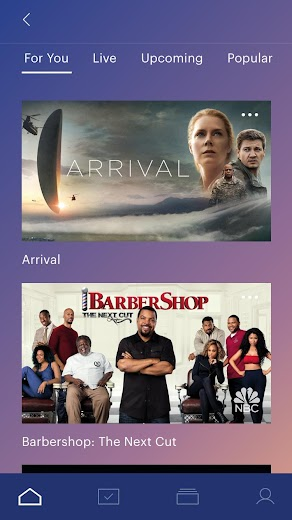 Screenshot 3 for Hulu's Android app'