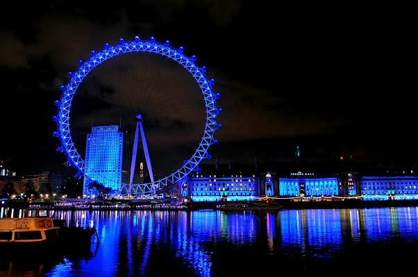 London in Blue di photofabi77