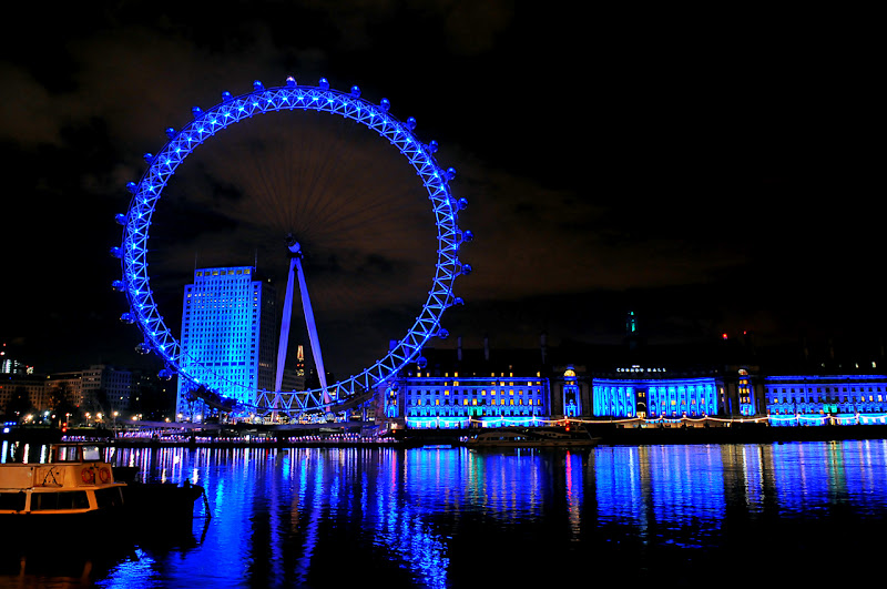 London in Blue di photofabi77
