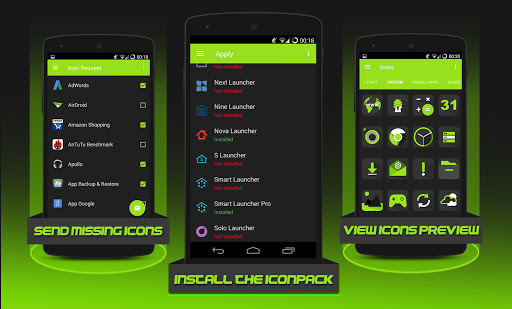 لالروبوت Krypton - Icon pack تطبيقات screenshot