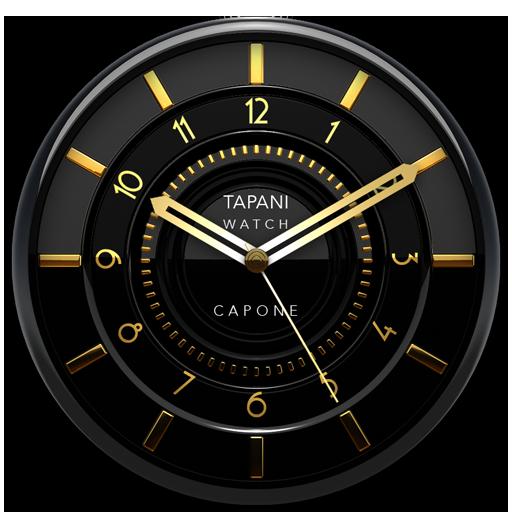 Capone Luxury Clock Widget
