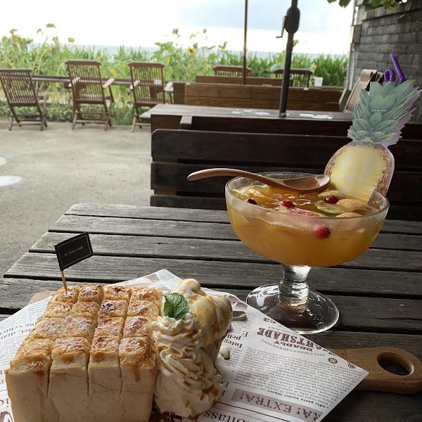 以下午茶的cp值來說不是高的,但加上外面的海景也算很值得啦!餐點口味都還不錯,感覺是有用心的!