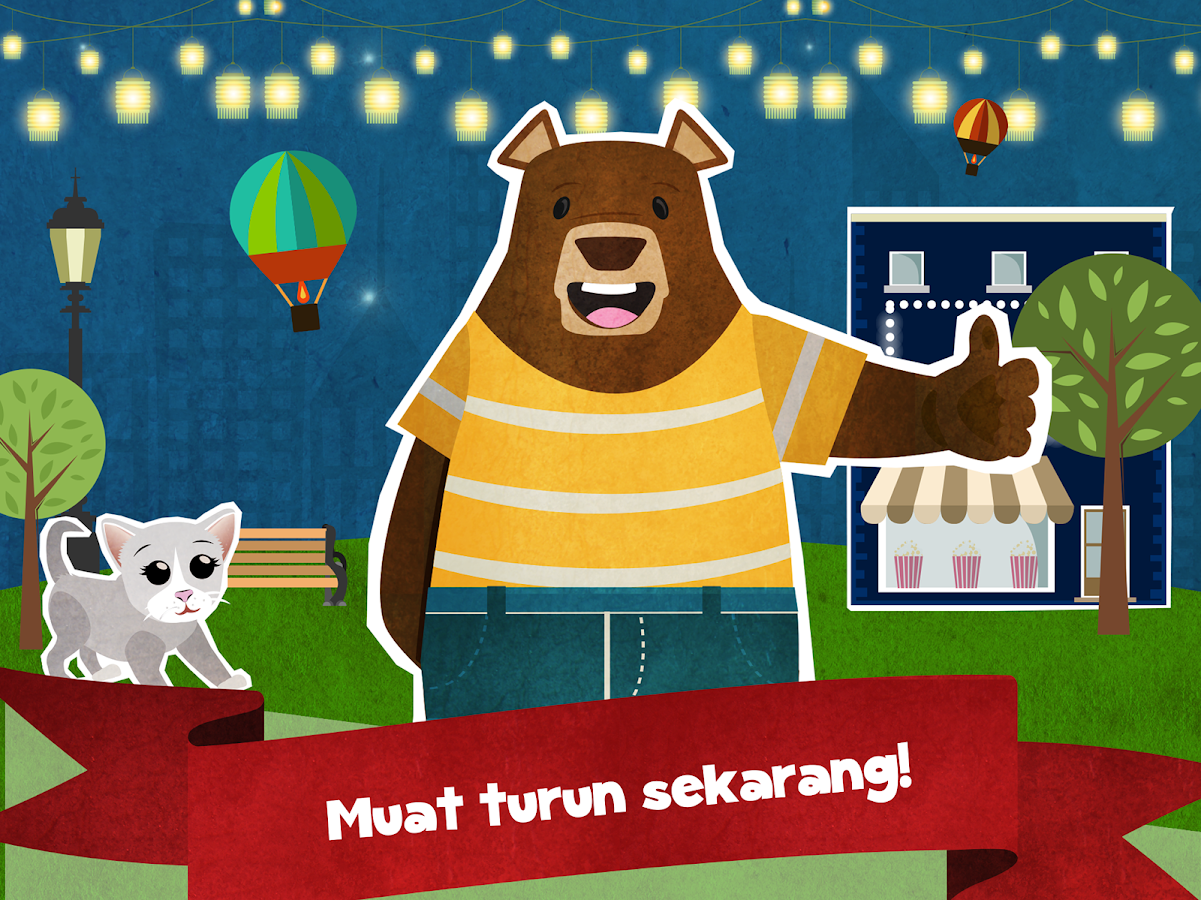 Beruang Bandar Kecil Percuma Apl Android Di Google Play
