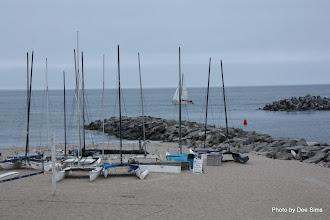 Photo: (Year 3) Day 27 -  Boats on Santa Cruz Beach