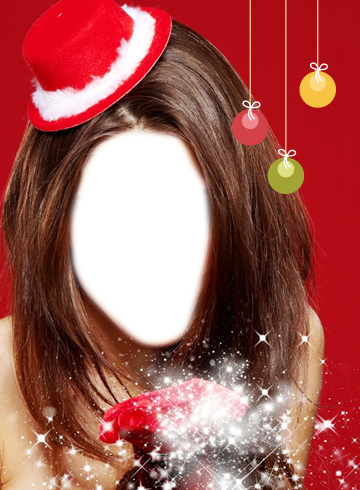 Christmas Girls Photo Montage