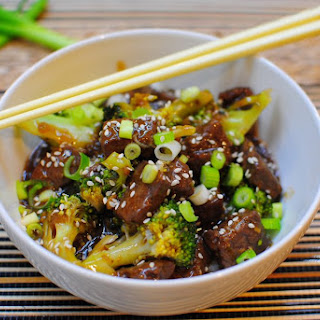 Marinated Beef & Broccoli