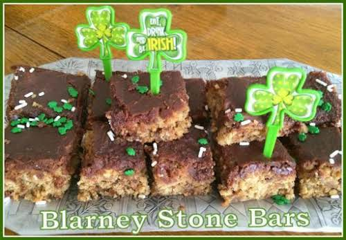 "Blarney Stone Bars ""These bars are full of flavor, chewy, rich and..."