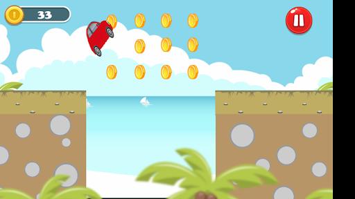 Car Jump- Run screenshot 5