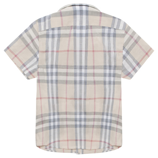 Thumbnail images of Burberry Baby Boy Faded Shirt
