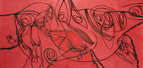Photo: Losing Sight of Perspective 38 - 36 x 72 inch - Pen & Ink on paper