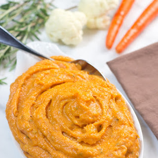 Cauliflower And Carrot Purée