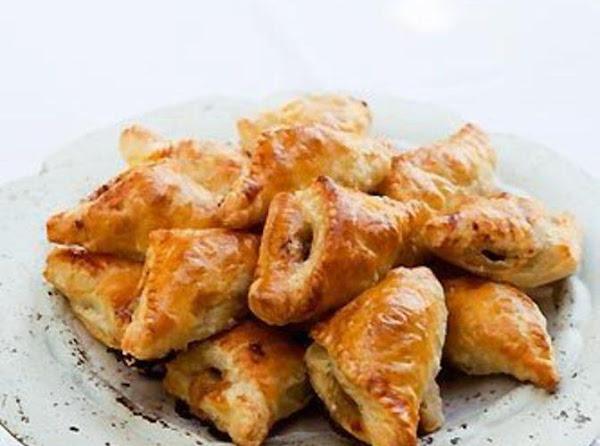 Apple Walnut Gorgonzola Turnovers Recipe