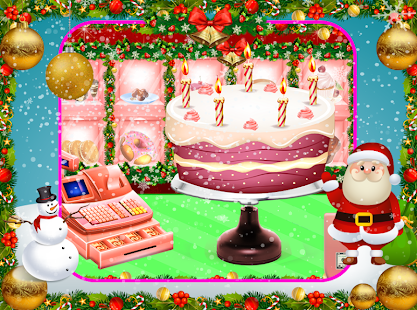 Christmas Sweet Cake Maker-Santa Cake Making Games - náhled