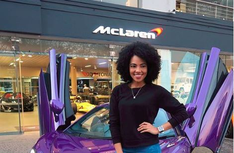 Amanda duPont is a proud owner of a McLaren 570S.