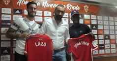 Mohamed El Assy ha presentado a Lazo y Jonathan.